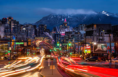Broadway Photograph - West Broadway And Cambie by Alexis Birkill