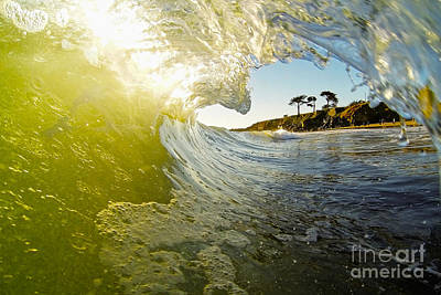 Photograph - West Cliff Wave by Paul Topp