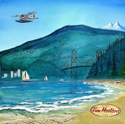 Painting - West Coast Dream by John Lyes