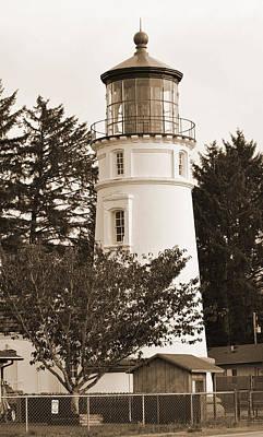 Digital Art - West Coast Lighthouse by Kirt Tisdale