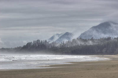 Photograph - West Coast Mist by Randy Hall