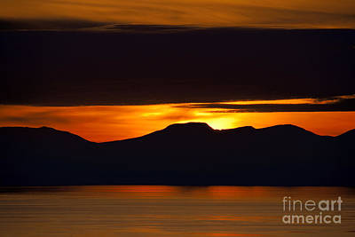 Photograph - West Coast Sunset by Terry Elniski