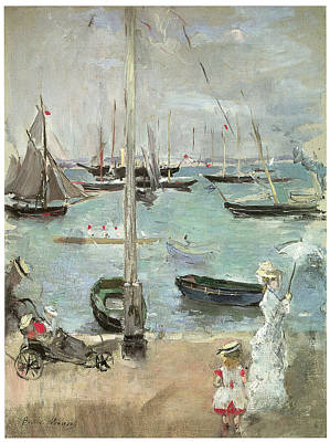 West Cowes Isle Of Wight Art Print by Berthe Morisot