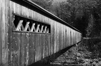 Photograph - West Dummerston Covered Bridge by Luke Moore