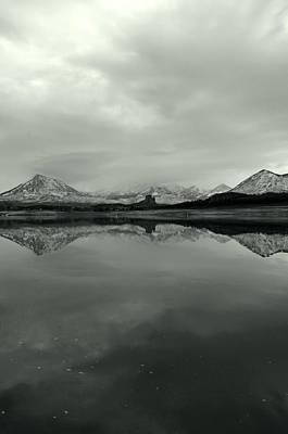 Photograph - West Elk Reflections  by Eric Rundle