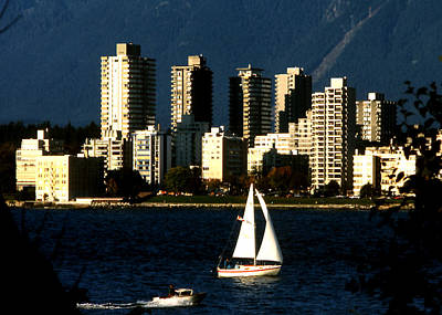 Photograph - West End - Vancouver by Robert  Rodvik