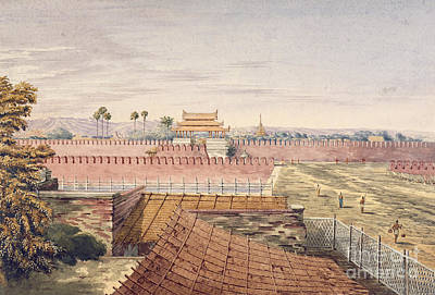 Take A View Photograph - West Gate & Part Of City Wall by British Library