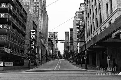 Photograph - West Hastings Street by John Rizzuto