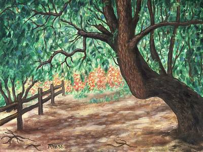 Trees Painting - West Hills One by Linda Mears
