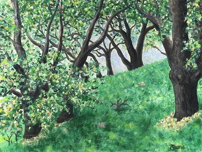 Impressionistic Landscape Painting - West Hills Two by Linda Mears