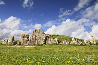 Tomb Photograph - West Kennet Long Barrow Avebury Wiltshire England by Colin and Linda McKie