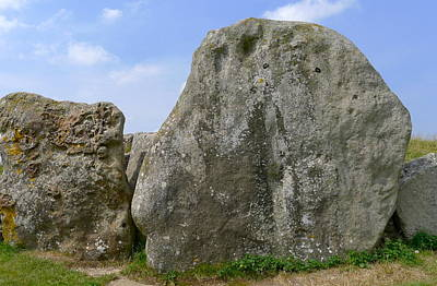 Photograph - West Kennet Long Barrow Stones by Denise Mazzocco