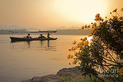 Photograph - West Lake Hangzhou by Charline Xia