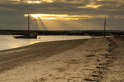 Photograph - West Mersea Beach by David Isaacson
