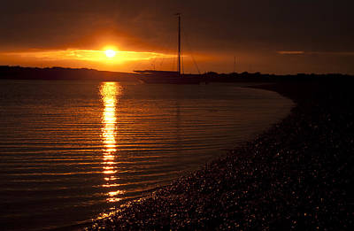 Photograph - West Mersea Sunset by David Isaacson