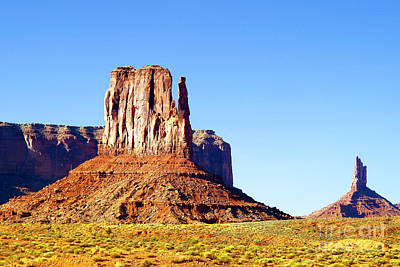 West Mitten - Monument Valley Art Print by Douglas Taylor
