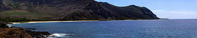 Print featuring the photograph West Oahu Panorama by Rob Tullis