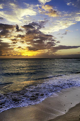 Photograph - West Oahu Sunset by Rob Tullis