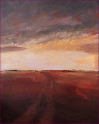 Painting - West Of Here by Rosemarie Hakim