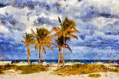Photograph - West Palm Beach In Florida by Les Palenik