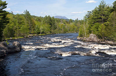 Photograph - West Penobscot River Maine by Glenn Gordon