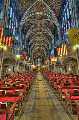 West Point Cadet Chapel Art Print