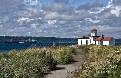 Photograph - West Point Lighthouse 1 by Kirt Tisdale