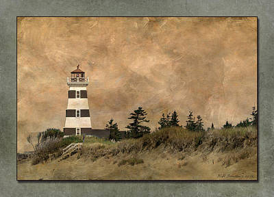Photograph - West Point Lighthouse 5 by WB Johnston