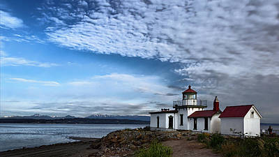 West Point Photograph - West Point Lighthouse II by Joan Carroll