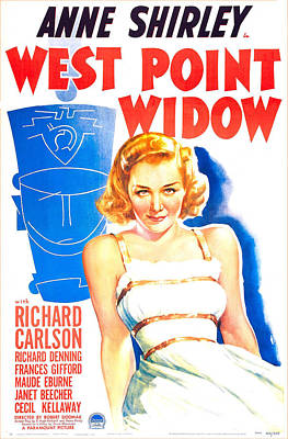West Point Widow, Us Poster, Anne Print by Everett