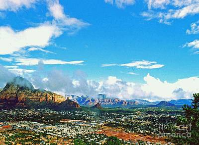 Photograph - West Sedona by Gary Wonning