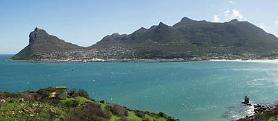 West Side Of Hout Bay Seen Art Print by Panoramic Images