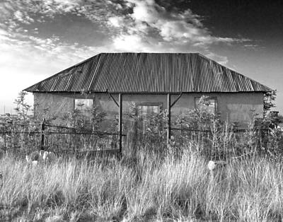 Haunted House Digital Art - West Texas Decay by Sonja Quintero