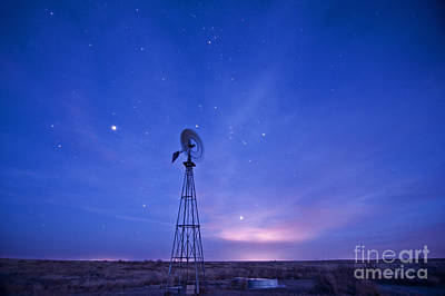 Photograph - West Texas Evening by Melany Sarafis