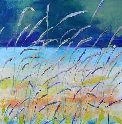 Painting - West Texas Grasslands II by Rosemarie Hakim