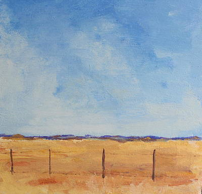 Painting - West Texas Grasslands by Rosemarie Hakim