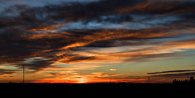 Science Collection Rights Managed Images - West Texas Sunrise Royalty-Free Image by Mark McKinney