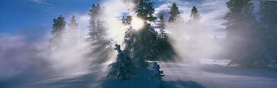 Brilliance Photograph - West Thumb Geyser Basin Yellowstone by Panoramic Images