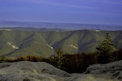 Photograph - West Virginia Blue Ridge by Bonnie Leigh Delar