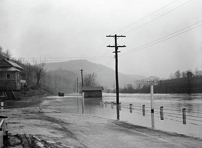 West Virginia Flood, 1939 Art Print by Granger
