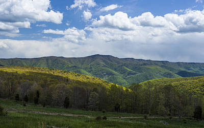 Photograph - West Virginia Mountains by Amber Kresge