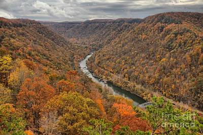 Photograph - West Virginia New River Gorge by Adam Jewell
