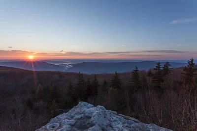 Photograph - West Virginia Sunrise by Amber Kresge