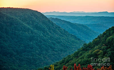 Kitchen Spices And Herbs - West Virginia Sunset by Kathleen K Parker