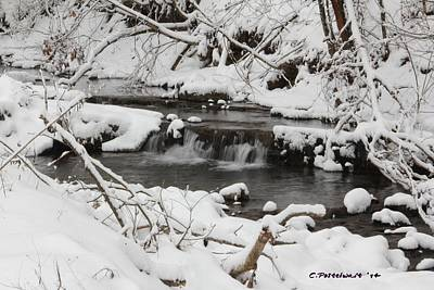 Photograph - West Virginia Winter by Carolyn Postelwait