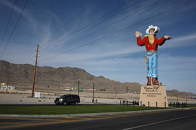 Will Power Photograph - West Wendover Nevada by Frank Romeo