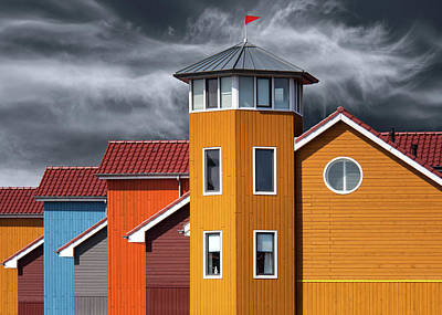 Colours Photograph - West Wind by Theo Luycx