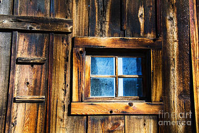 Photograph - West Window by Rick Bragan