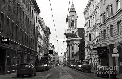 Photograph - Westbahnstrasse In Vienna by John Rizzuto