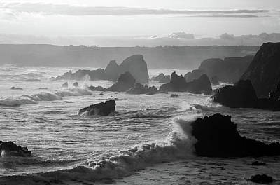 Squall Photograph - Westerly View, From Bunmahon by Panoramic Images